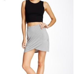 ➳ NWT BCBGeneration Faux Wrap Knit Skirt